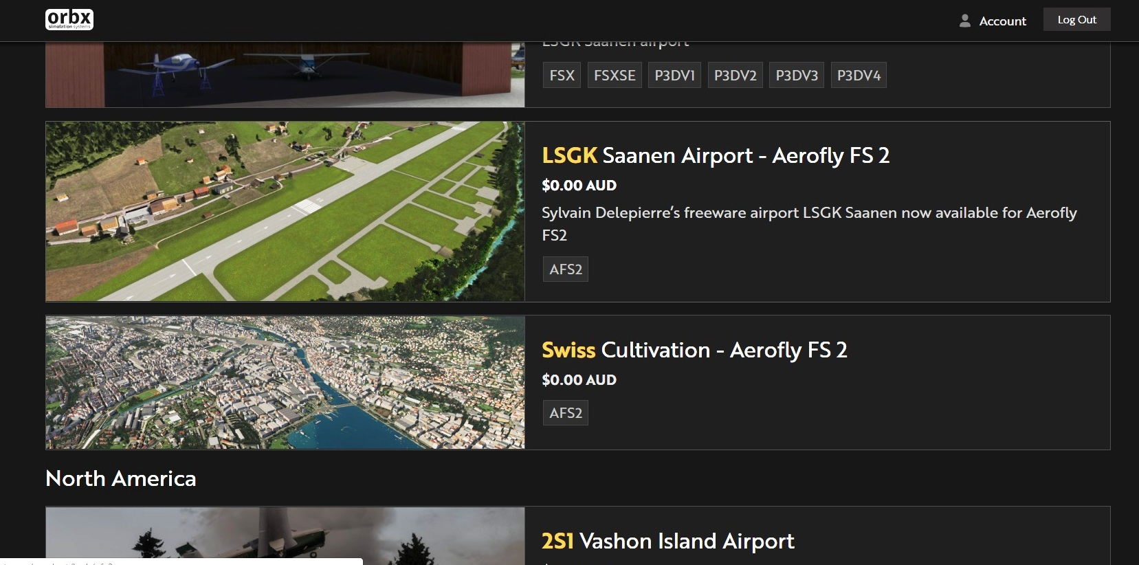 Swiss cultivation free from ORBX - General discussions