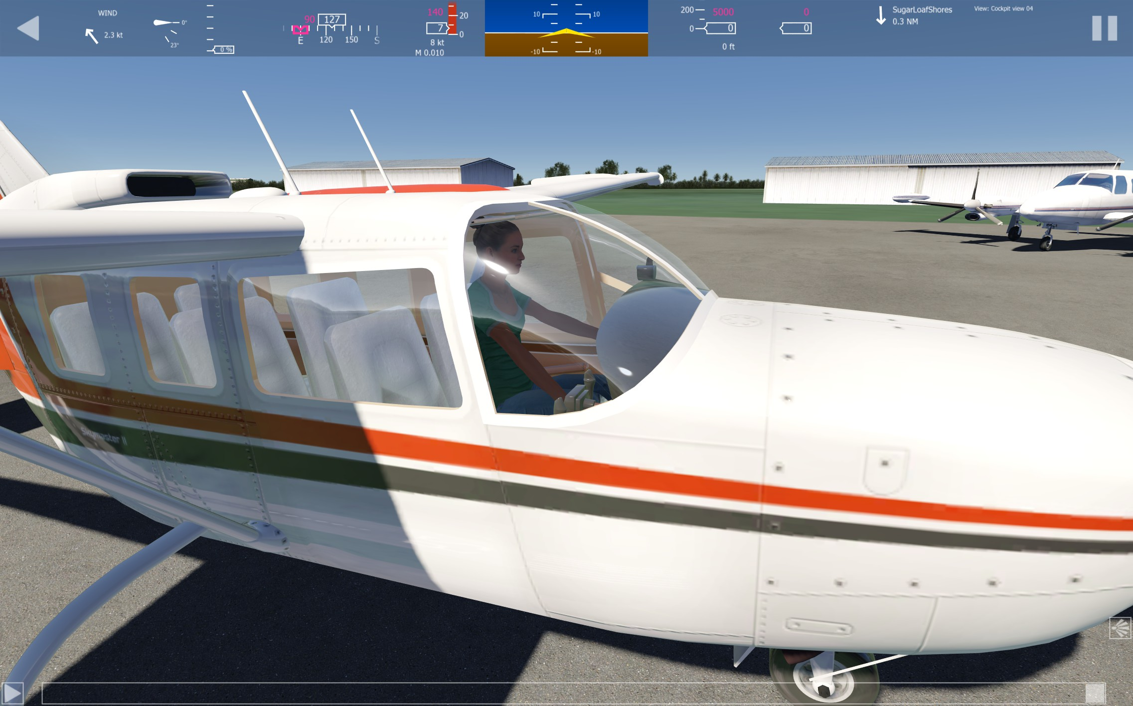 Early look at Cessna 337 Skymaster - Push Pull Twin