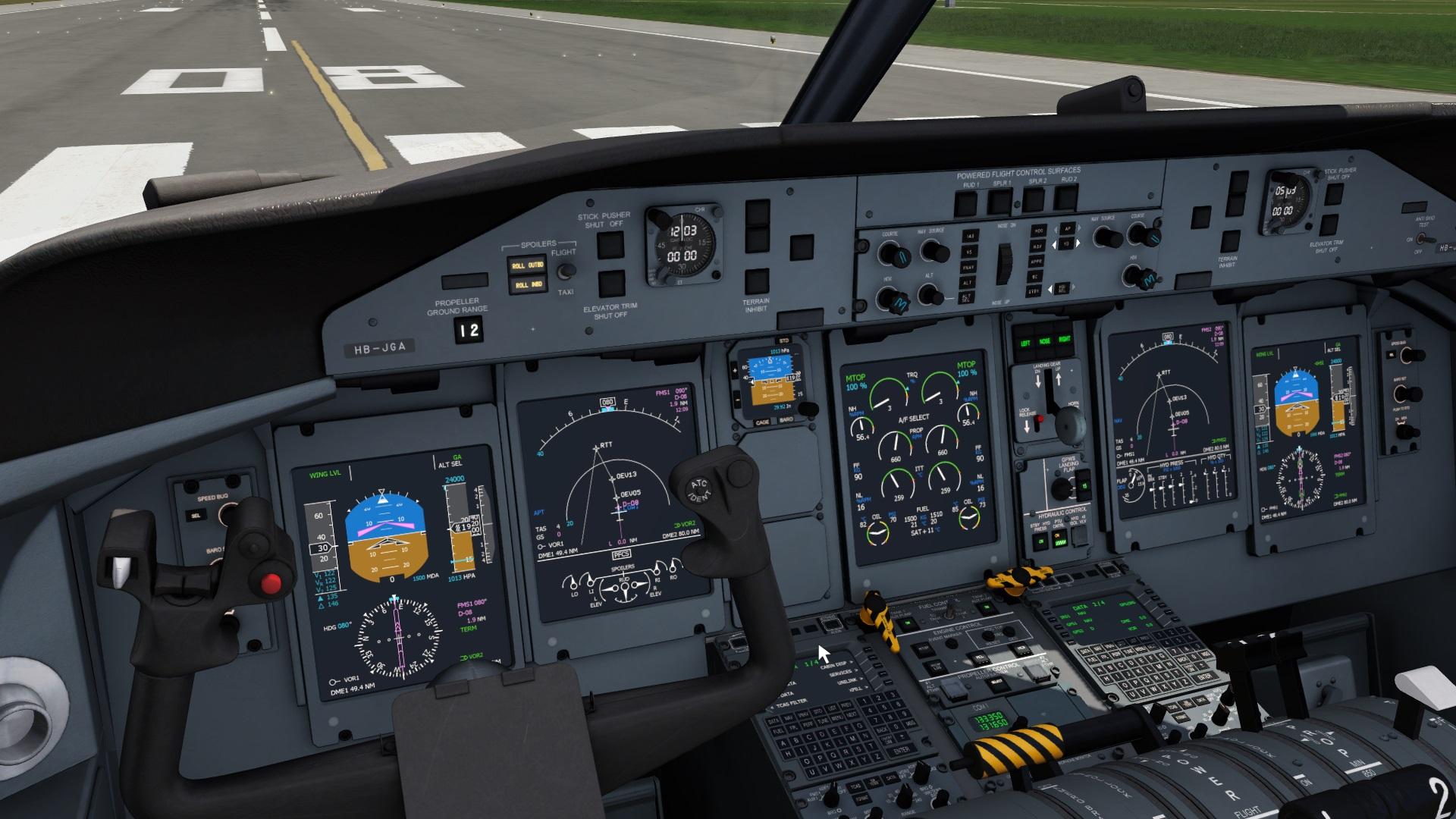 Q400 status update - More screenshots! - General discussions