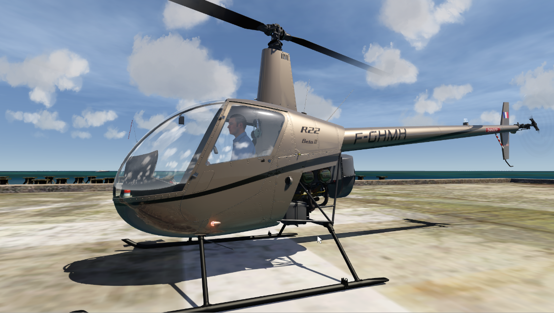 Aerofly FS 2 Robinson R22 Helicopter Released! - General discussions