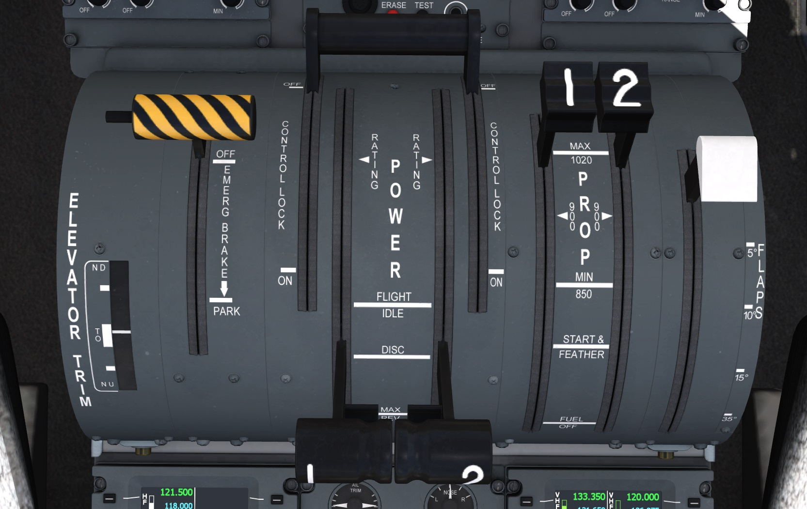 aircraft:dash8-q400_flight_deck [Aerofly FS Wiki]